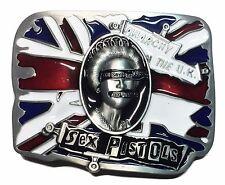 Sex Pistols Save The Queen Metal/Enamel Belt Buckle