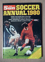 THE SUN SOCCER ANNUAL 1980 NOT PRICE CLIPPED NO LOOSE PAGES OR SCRIBBLE