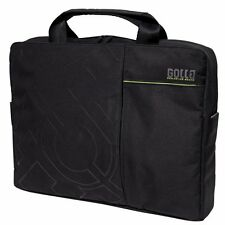 Golla Onyx 16 pollici Laptop / Messenger Bag In Nero (G812) UK STOCK