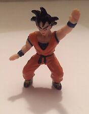 """1989 Dragon Ball Z 2"""" PVC Mini Figure: Saiyan Goku: Action Pose"""