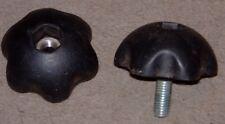Set of 4 nylon M8 handwheel -   nut or any length bolt