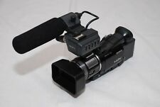 Sony HVR-A1E PAL HDV DVCAM MINI DV Camcorder black with canon camcorder bag