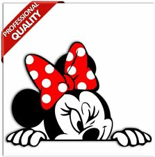 15cm Aufkleber Sticker Micky Minni Minnie Maus Mickey Mouse Auto Fenster B 246
