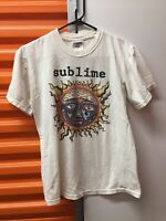 Vtg Sublime T-Shirt Skunk Records Adult Small Long Beach California Graphic Sun