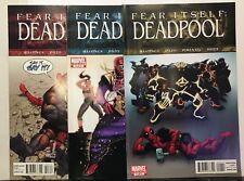 Fear Itself Deadpool #1-3 Set VF/NM 1st Print Marvel Comics