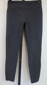 Athleta Leggings Size SP Small Petiite Gray Metro Cropped Legging Stretch Womens
