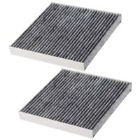 2 Pack Cabin Air Filter with Activated Carbon, Replacement for Toyota, , Su P6N6