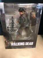 "McFarlane The Walking Dead TV Deluxe Action Figure 10"" Inch Daryl Dixon - New"