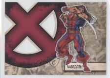 2011 Upper Deck Marvel Beginnings Series 1 X-Men Die-Cuts #X-42 Warpath Card 0p3