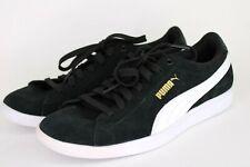 Puma Vikky Sneaker Size 8 Women Kids Trainers 362624 02 Black & White Suede New