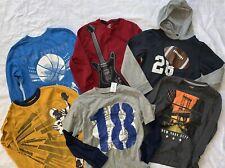 HUGE LOT of Boys GYMBOREE Old Navy  Long Sleeve Shirts Sz 7 8