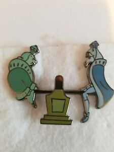 Disney Haunted Mansion Ghosts Pin on Teeter Totter Seesaw LE 999