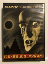 Nosferatu (2 Disc Set, 2007) KINO Ultimate DVD Edition RARE W/ Insert & Catalog
