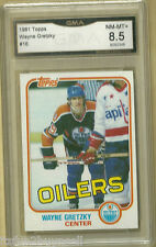 1981 Topps Wayne Gretzky #16  GMA 8.5  NM-MT+ Oilers GRADED