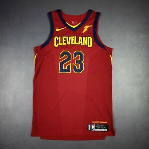 """100% Authentic Lebron James Nike Cavaliers Icon Game Jersey Size 48+4"""""""