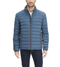 $195 Tommy Hilfiger Packable Down Quilted Logo Jacket...
