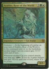 1x ARAHBO, ROAR OF THE WORLD - Duel Deck - MTG - Magic the Gathering