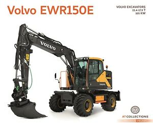 AT Collections 1/32 Volvo EWR150E Excavator Steelwrist Tiltrotator AT3200100