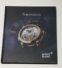 Montblanc Timepieces Collectible Hardback Book