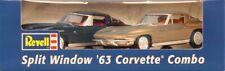 Revell 1:25 63 Corvette Split Window Coupe Combo Chevrolet Black Gold #0919