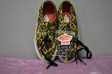 Van's Supreme Authentic Pro Bruce Lee Yellow Sneakers Size 8.5 Men's