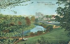 Ripon cathedral from banks of skell woodbury series