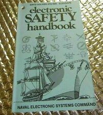 1983 Naval Electronic System Command Electronic Safety Handbook Manual Elexsafe