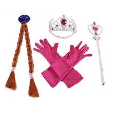 Expédié de Paris - Lot Accessoires Anna Reine des Neiges Costume Enfant 3-10 ans