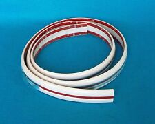 1992 1993 Caravan Voyager Town & Country Front Bumper Molding White/Red ER27KWR