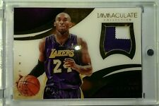 13-14 IMMACULATE COLLECTION ACETATE NUMBERS PATCH KOBE BRYANT #04/24 RARE