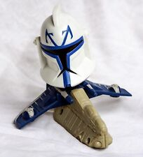 Star Wars Clone Trooper Captain Rex #18 Figure McDonalds Happy Meal Toy 2008