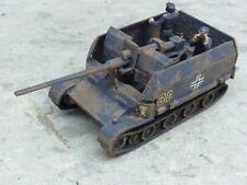 Roco Minitanks Pro Painted WWII German Grille 88MM SP Anti Aircraft Lot #2435B
