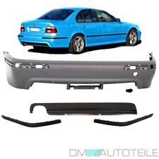BMW E39 Limousine Stoßstange hinten ohne PDC ABS grundiert +Diffusor M M5 +*ABE*