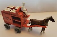 Matchbox Moko Lesney Horse Drawn Milk Float No 7