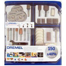 Dremel 724-150 Piece Multipurpose Accessory Gift Set Kit for Rotary Multi Tools