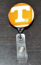 University of Tennessee Retractable Badge Reel With Alligator Clip