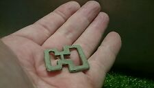 Roman Military Bronze buckle application lovely smooth patina