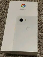 NEW Factory Sealed Google Pixel 3a - 64GB - Clearly White (Unlocked)