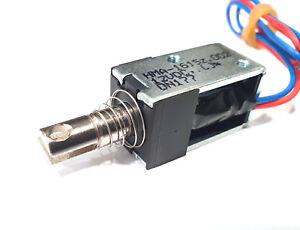 Hubmagnet, arretierend 12V 100% ED Typ HMA-1615z  2 Stück
