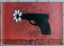 Act of Vengeance - John Mackenzie - Polish Poster  - Stasys