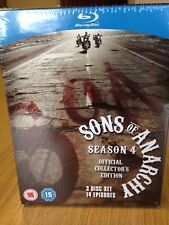 Sons of Anarchy: Season 4 Blu-ray Official Collector's Edition includes T-Shirt