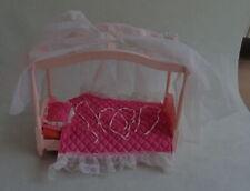 1985 vintage Mattel BARBIE DREAM GLOW BED 5641 hemelbed pop canopy Bett Lit Cama
