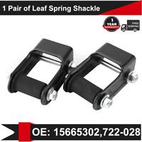 Rear Leaf Spring Hanger Shackle Bracket Kit for Chevy Blazer S10 GMC Jimmy S15