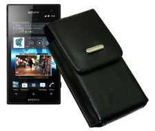 SONY XPERIA ACRO S - Smartphone Cover Wallet Vertical Leather Case