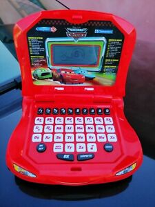 Computer kid the world of  CARS CLEMENTONI Disney Pixar laptop parlante