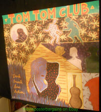Tom Tom Club Dark Sneak Love Action 1991 Record Promo Poster