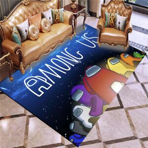 3D Gamer Doormat Among Us Rug Bedroom Door Mat Dining Room Floor Mat Carpet #AS9