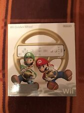 Mario Kart Wii Club Nintendo Golden Wheel Lenkrad