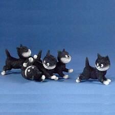 """JUST FOLLOW ME"" SUIVEZ-MOI! Albert Dubout Cat Kitten Statue Sculpture France"