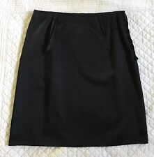 Lanvin Black Mid Length Skirt Size 54 US 8 NWT $1090 From Barneys New York